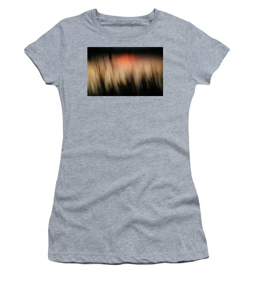 Women's T-Shirt (Junior Cut) featuring the photograph Southwestern Sunset by Marilyn Hunt