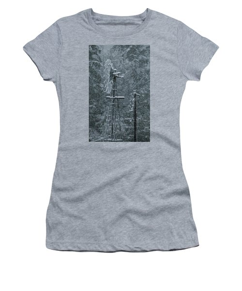 Southworth Windmill Snow Bound Women's T-Shirt