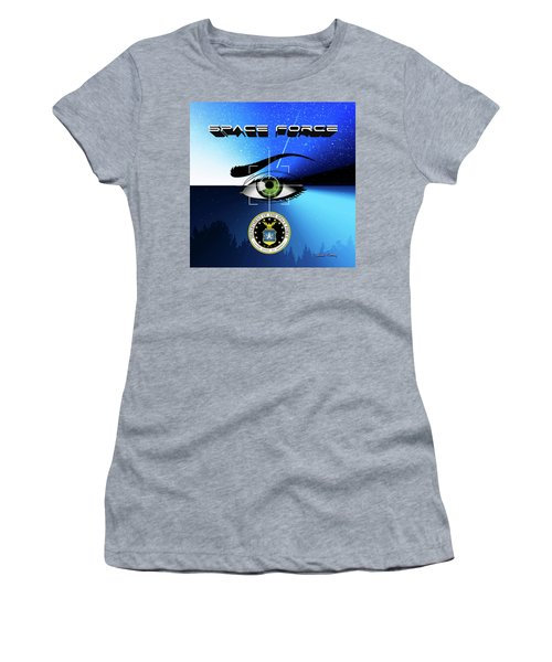 Space Force Women's T-Shirt (Athletic Fit)