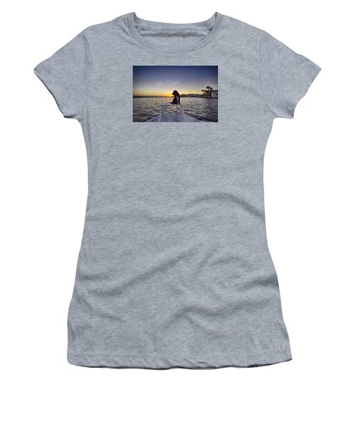 Spaniel At Sunset Women's T-Shirt (Athletic Fit)