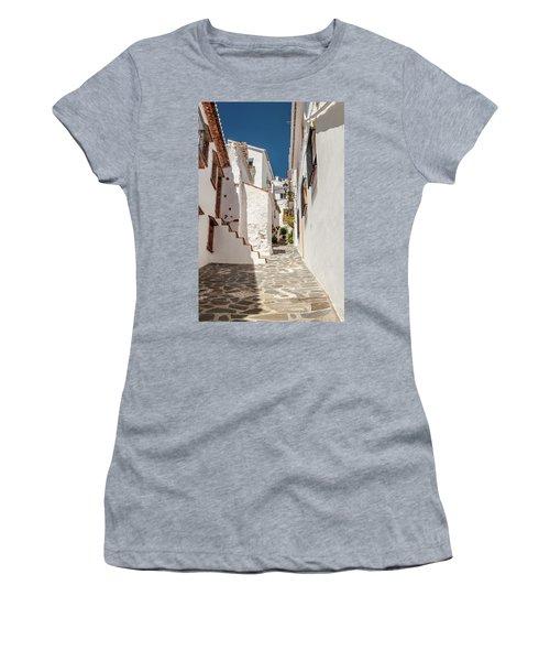 Spanish Street 1 Women's T-Shirt (Athletic Fit)