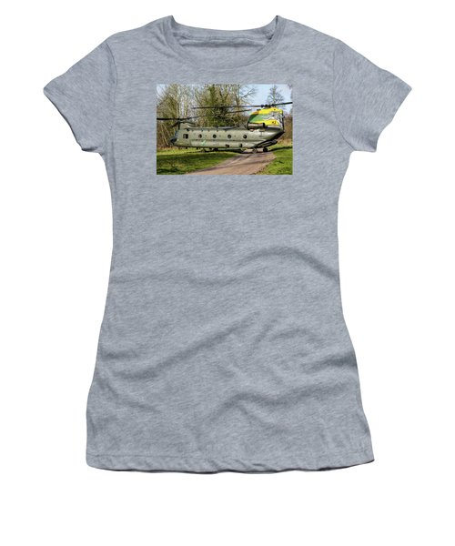 Special Tail Chinook Women's T-Shirt (Junior Cut) by Ken Brannen