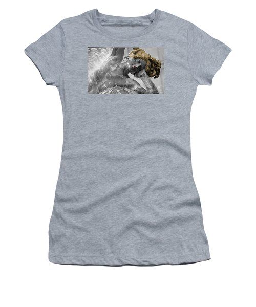 Spirit Of Water Women's T-Shirt (Junior Cut) by Lyric Lucas