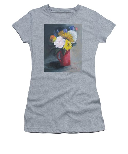 Splash Of Color Women's T-Shirt (Athletic Fit)