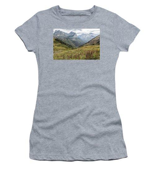 Splendor From Highline Trail - Glacier Women's T-Shirt