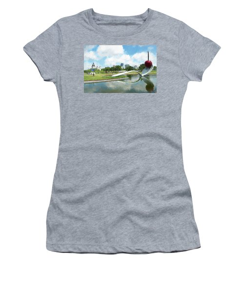 Spoon And Cherry Women's T-Shirt (Athletic Fit)