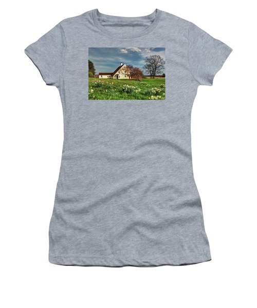 Spring At The Paine House Women's T-Shirt (Athletic Fit)