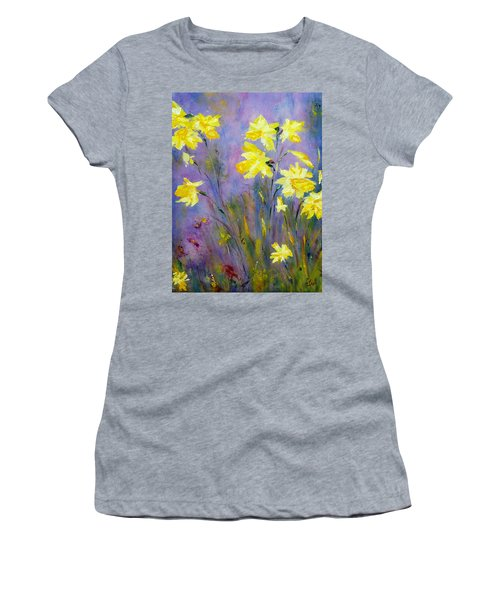 Spring Daffodils Women's T-Shirt (Athletic Fit)