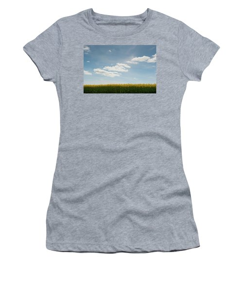 Spring Day Clouds Women's T-Shirt