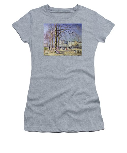 Spring In Hyde Park Women's T-Shirt (Athletic Fit)