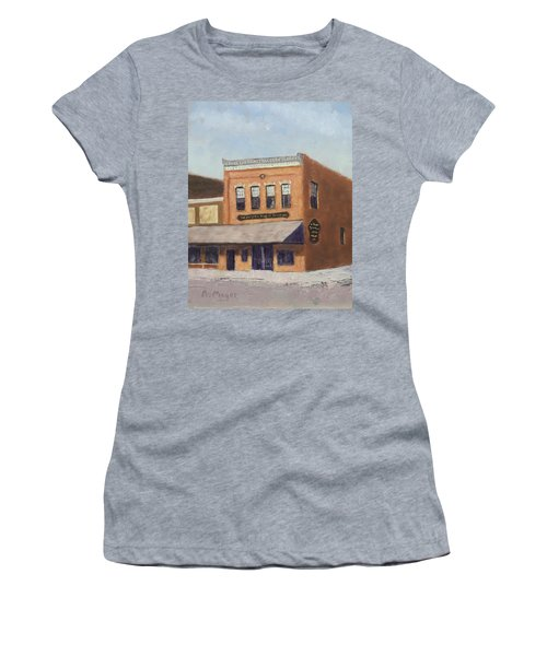 Spring Morning Downtown Women's T-Shirt (Athletic Fit)