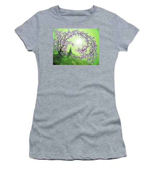 Spring Morning Meditation Women's T-Shirt (Athletic Fit)
