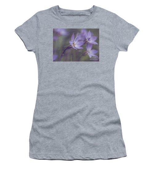 Spring Starflower Women's T-Shirt (Junior Cut) by Eva Lechner