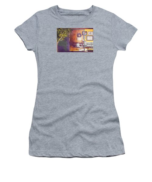 Spying Your Room Women's T-Shirt (Junior Cut) by Andrea Barbieri