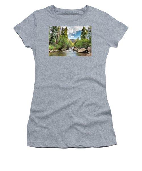 Squaw Creek, Colorado Women's T-Shirt