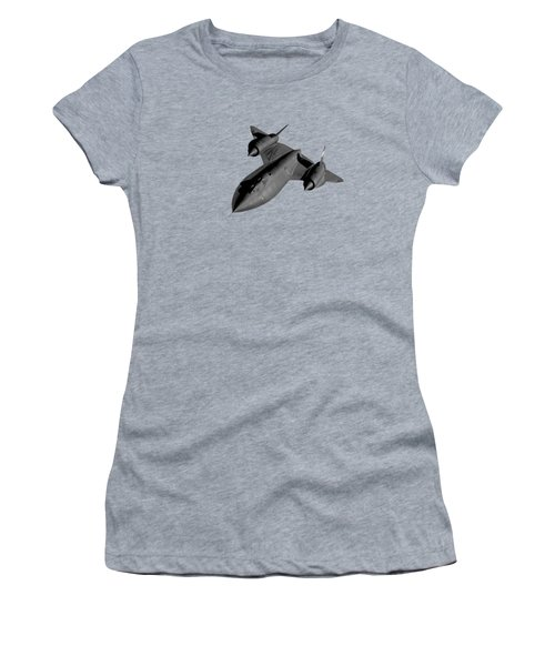 Sr-71 Blackbird Flying Women's T-Shirt