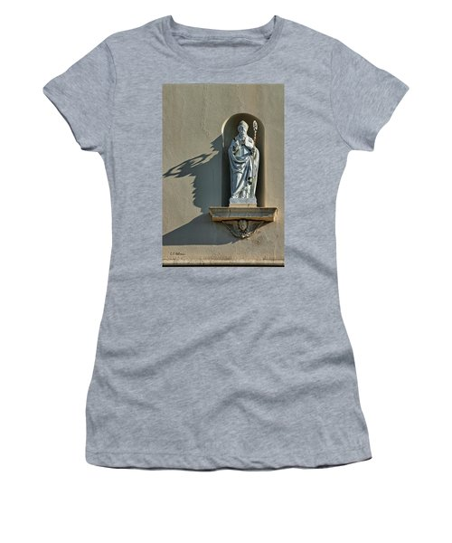 St. Augustine Of Hippo Women's T-Shirt (Athletic Fit)