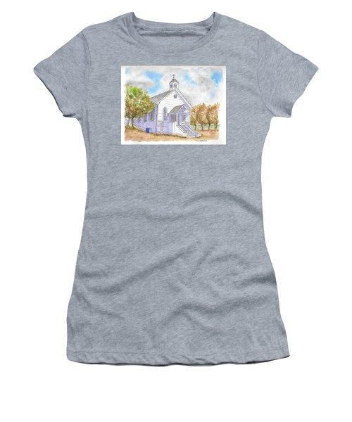 St. Bernard's Catholic Church, Volcano, California Women's T-Shirt