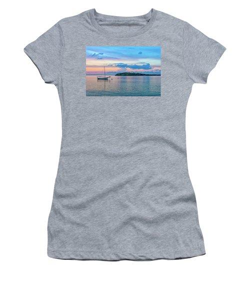 St Croix Colors Women's T-Shirt (Athletic Fit)