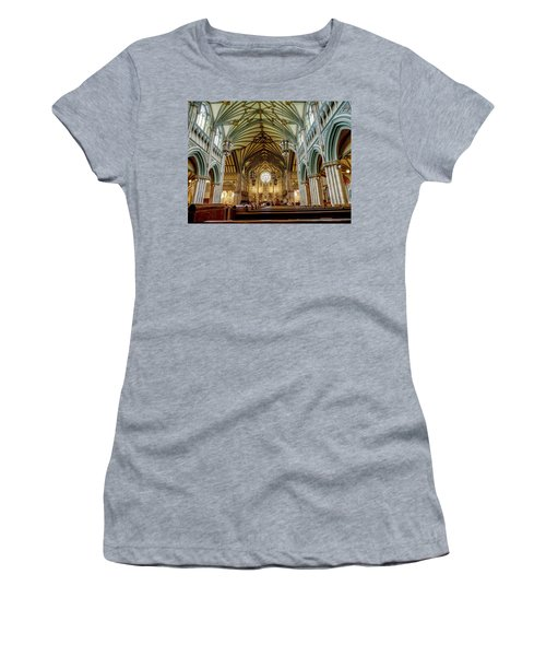 St Dunstan's Cathedral  Women's T-Shirt (Athletic Fit)