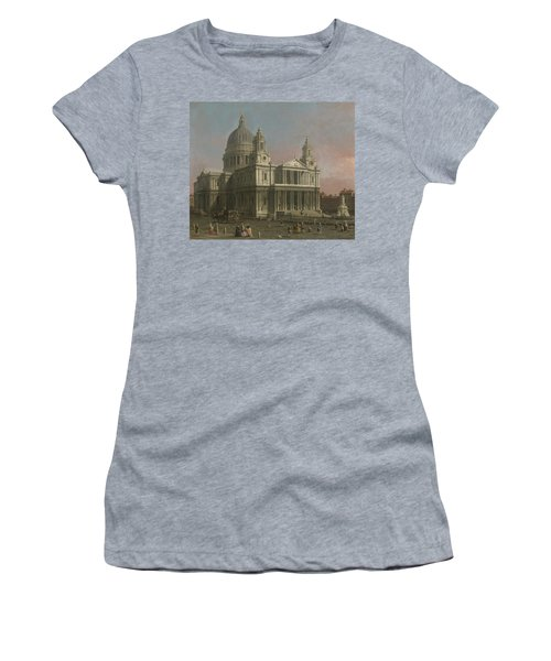 St. Paul's Cathedral Women's T-Shirt (Athletic Fit)