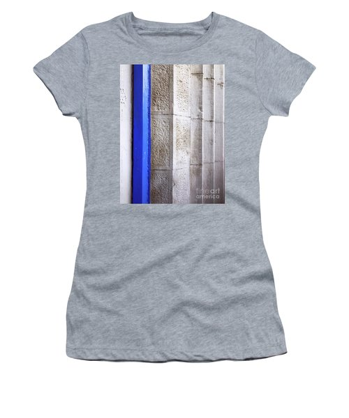 Women's T-Shirt featuring the photograph St. Sylvester's Doorway by Rick Locke