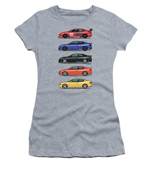 Stack Of Holden Monaros Women's T-Shirt