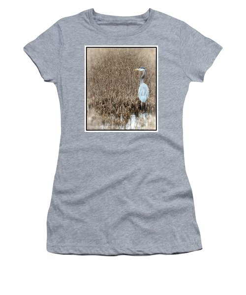 Women's T-Shirt (Junior Cut) featuring the photograph Standing Alone by Tamera James