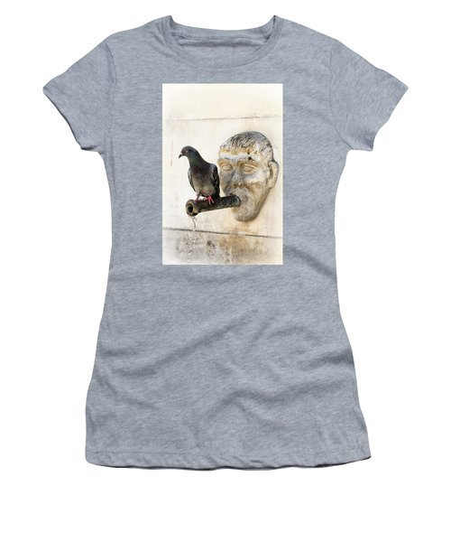 Standing On The Water Women's T-Shirt (Junior Cut) by Edgar Laureano