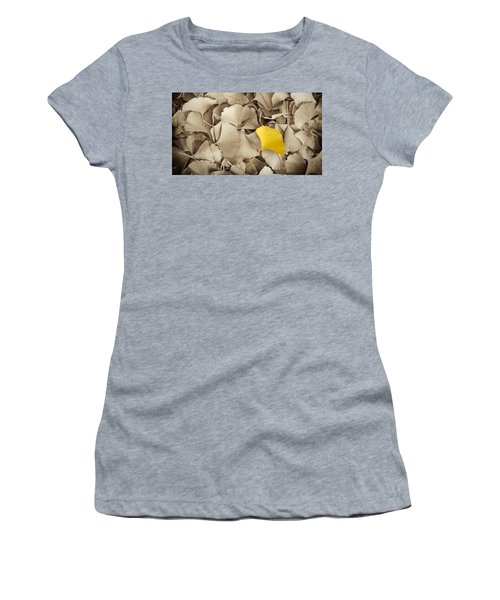 Standing Out In A Crowd Women's T-Shirt
