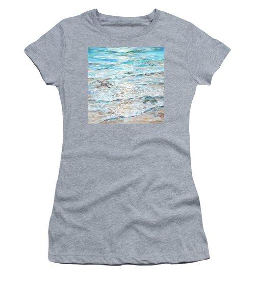 Starfish Under Shallows Women's T-Shirt