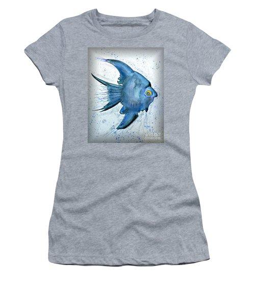 Startled Fish Women's T-Shirt (Junior Cut) by Walt Foegelle