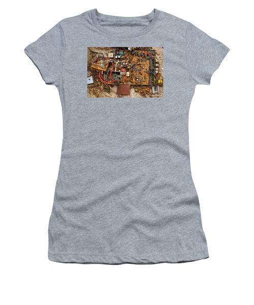 Women's T-Shirt (Junior Cut) featuring the photograph State Of The Art by Christopher Holmes