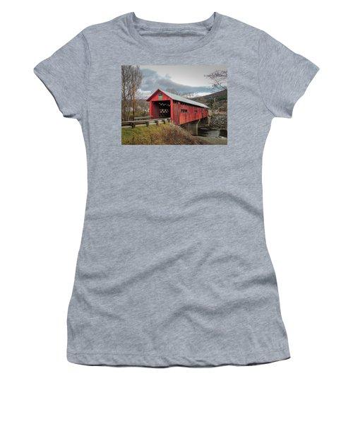 Station Covered Bridge Women's T-Shirt