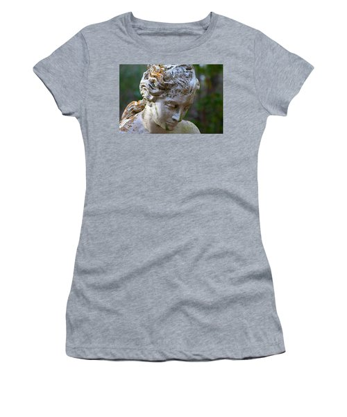 Statue At Magnolia Gardens Women's T-Shirt (Athletic Fit)