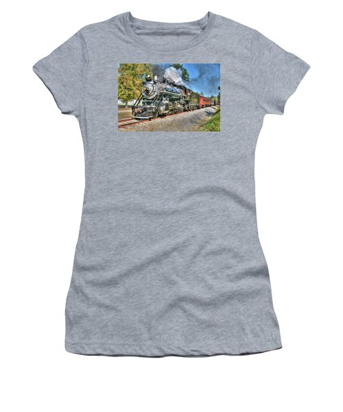 Steaming Women's T-Shirt (Athletic Fit)