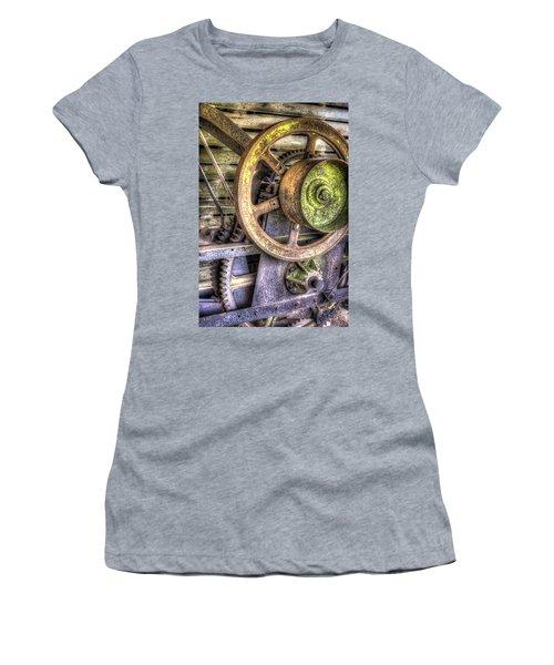 Steampunk Farming Women's T-Shirt