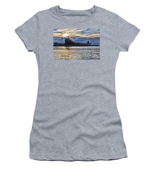 Steamship William G. Mather - 1 Women's T-Shirt