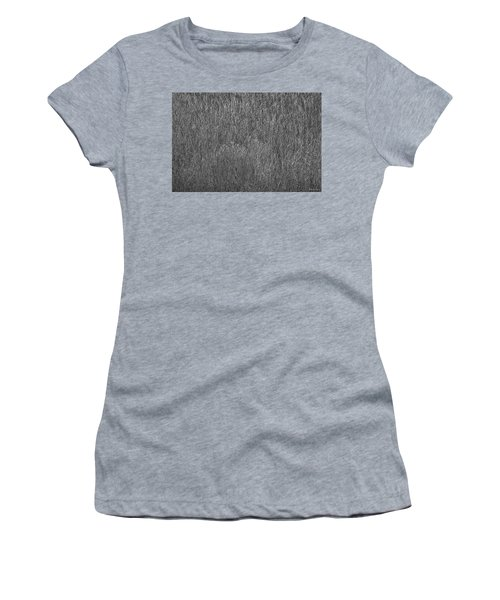 Steel Gray Grass Women's T-Shirt (Athletic Fit)