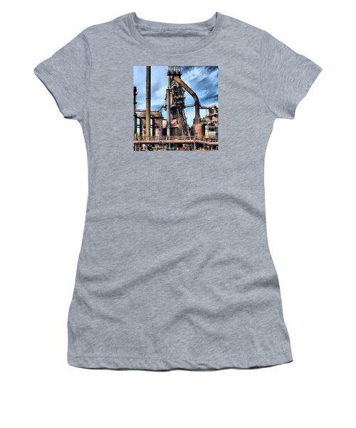 Steel Stacks Bethlehem Pa. Women's T-Shirt