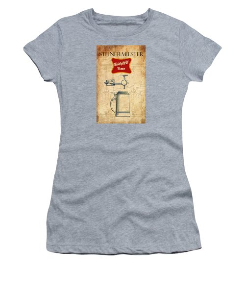 Steinermiester Women's T-Shirt (Junior Cut) by Greg Sharpe
