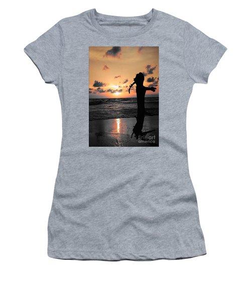 Still By Sea Women's T-Shirt (Junior Cut) by Rushan Ruzaick