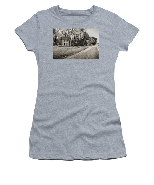 Stone House Road Women's T-Shirt (Athletic Fit)