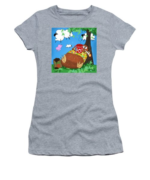 Stonedolino Women's T-Shirt (Athletic Fit)