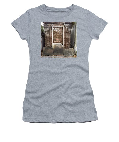 Stones And Markers Women's T-Shirt (Athletic Fit)