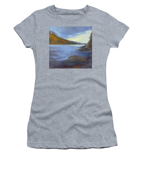 Storm Clouds Break Over The River Gorge Women's T-Shirt (Athletic Fit)