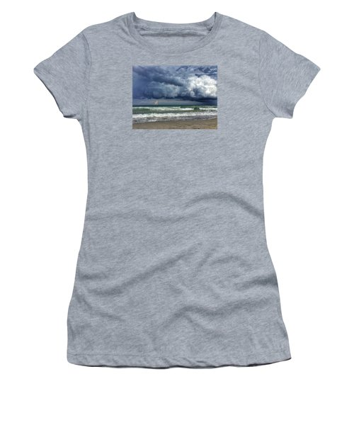 Stormy Ocean Women's T-Shirt (Athletic Fit)
