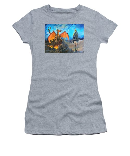 Straight To The Casttttle Women's T-Shirt (Junior Cut) by Kevin F Heuman