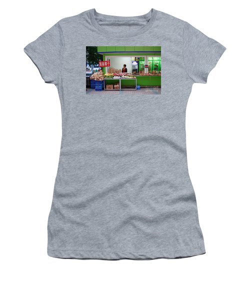 Street Vendor  Beijing Women's T-Shirt