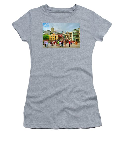 Streets Of Macau Women's T-Shirt